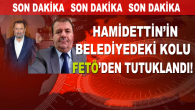 Hamidettin'in Darende Belediyesi'ndeki Kolu FETÖ Kapsamında Tutuklandı!