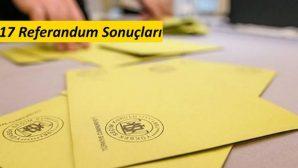 Darende'de Mahallelere Göre Referandum Sonuçları