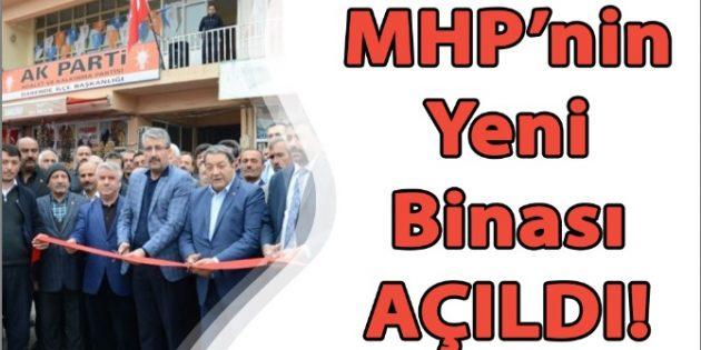 Milliyetçi Hareket Partisi'nin Yeni Binası Hizmete Açıldı